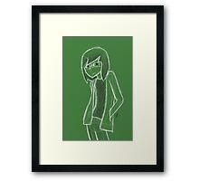 """""""Starbucks"""" Andrew Framed Print"""