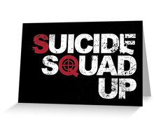 Suicide Squad Up Greeting Card