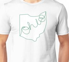 Handwritten Ohio (Forest) Unisex T-Shirt