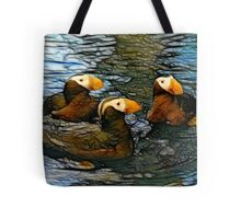 Puffin Clutch Tote Bag
