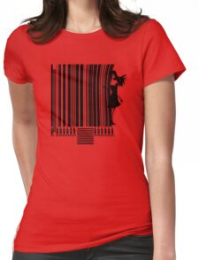 Material Girl Womens Fitted T-Shirt