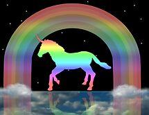 Rainbow Unicorn by JELProductions