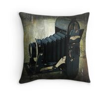 Photos From the Past Throw Pillow