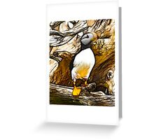 Puffin Watch Greeting Card