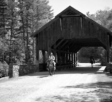 Covered Bridge at Little River by Bill Wetmore