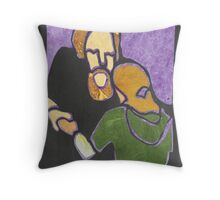 56-Connection Throw Pillow