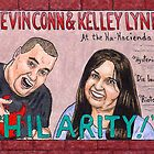 Comedians: Kevin Conn & Kelley Lynn by  Kevenn T. Smith by KevennTSmith