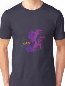 Purple Fair Girl Unisex T-Shirt