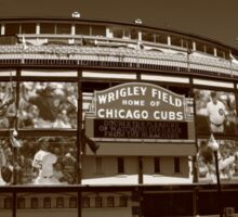 Wrigley Field - Chicago Cubs Sticker