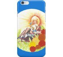 Woman In Rickshaw iPhone Case/Skin