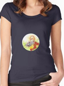 Woman In Rickshaw Women's Fitted Scoop T-Shirt