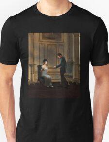 Regency Era Couple in Candlelit Ballroom T-Shirt