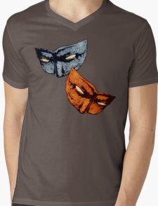 Hazard Sibling Masks Mens V-Neck T-Shirt