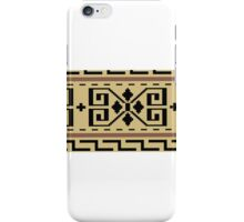 Dude sweater pattern iPhone Case/Skin