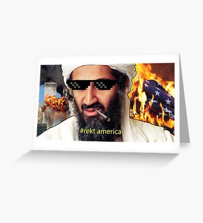 Uncle Osama Mlg Greeting Card