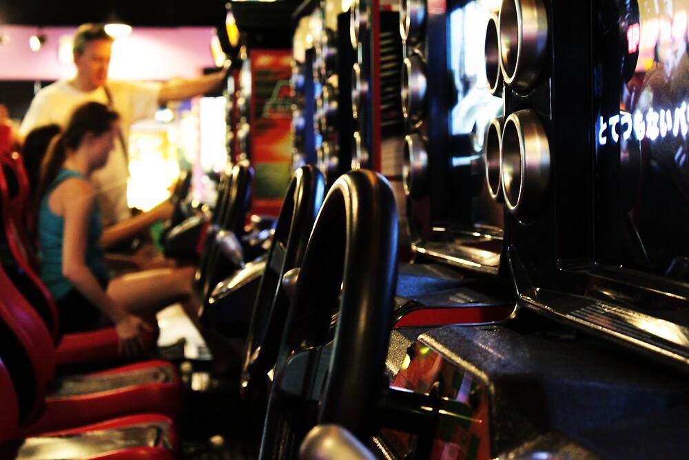 Burbank Arcade Racing Game by Riggz309