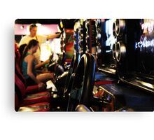 Burbank Arcade Racing Game Canvas Print