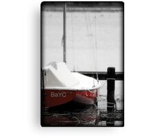 Red Hull Canvas Print