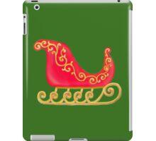 Santa Sleigh iPad Case/Skin