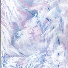 Snowstorm - abstract winter landscape by kathysgallery
