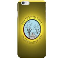 Guardian of the NYC Library * iPhone Case/Skin