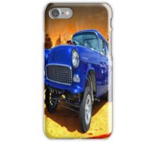 The Shiny Blue One iPhone Case/Skin