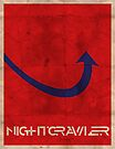 Minimalist Nightcrawler by Adam Grey