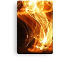 Fire Flame Canvas Print