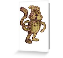 Conkers Bad Fur Day Greeting Card