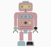 Pink Robot One Piece - Short Sleeve