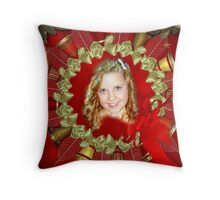 My Granddaughter Celise Throw Pillow