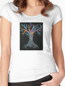 Tree of Life 2011 Women's Fitted Scoop T-Shirt