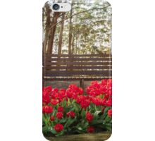 Tulips in the Forest Clearing iPhone Case/Skin
