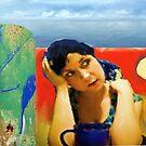 Beach Demoiselle by Tom Golden