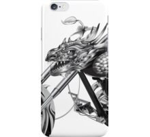 Dragon Rider Bike iPhone Case/Skin