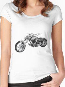 Dragon Rider Bike Women's Fitted Scoop T-Shirt
