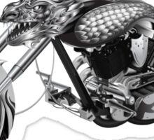 Dragon Rider Bike Sticker