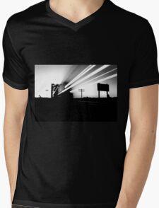train of broken dreams Mens V-Neck T-Shirt
