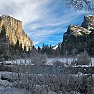 Gates of the Valley, Winter by Ken Scarboro