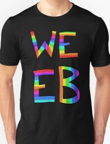 Rainbow Weeb Graphic T-Shirt