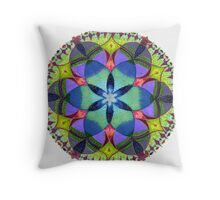 CLARITY is necessary. Affirm what you want. Relax & be receptive Throw Pillow