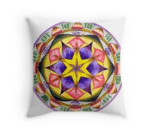 RECOGNISING YOUR DIVINE GIFTS activates Self-Esteem & Self-Worth Throw Pillow