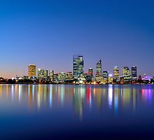 City of Perth by Dennis  Wat
