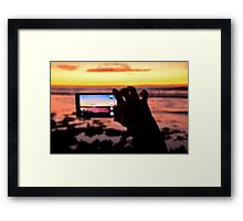 Australia Sunset Framed Print