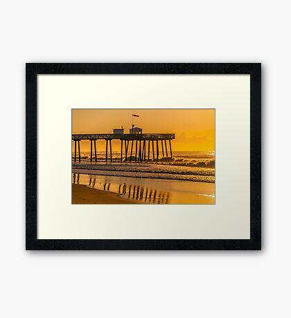 *********** OCEAN CITY FISHING PIER *********** Framed Print