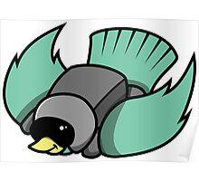 Bird Dive Poster