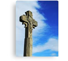 Old Rugged Cross - Carcassonne Canvas Print