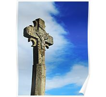 Old Rugged Cross - Carcassonne Poster