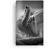 Angels brought me here Canvas Print