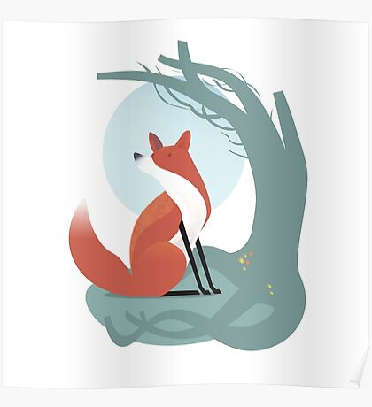 Foxes have holes Poster